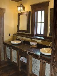 endearing 10 custom rustic bathroom vanities design ideas of