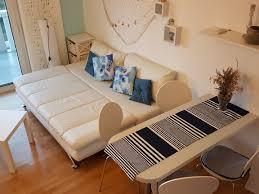 Combined Living And Dining Room Cro Behar Studio Apartment More Sv Petar Zadar Apartmani Cro Behar