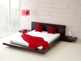 Contemporary Platform Bed Bedroom Modern Platform Bedroom Sets Bed Frames Platform Bed