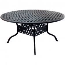60 Patio Table Aluminum Patio Dining Tables Foter