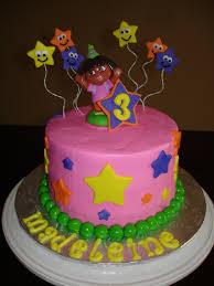 dora birthday cake vanilla cake with vanilla buttercream u2026 flickr