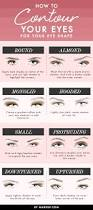 how to contour your eyes for your eye shape l makeup com