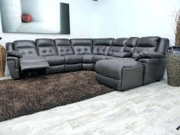 Gray Leather Reclining Sofa Tufted Gray Sofa Navillezhang Me