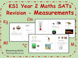 ks1 year 2 maths sats revision measurements differentiated