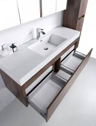 bathroom vanities labrador walnut bathroom vanity 60