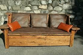 canapé cuir convertible design meubles design canape cuir convertible bois design coffre