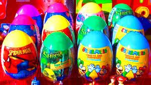 littlest pet shop easter eggs 12 eggs mario bros spider shrek littlest pet