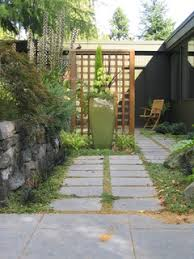 do it yourself or hire a landscaper mid century modern remodel