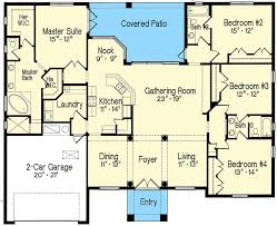 split bedroom one story living 4293mj architectural designs