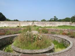 lord belmont in northern ireland old walled garden