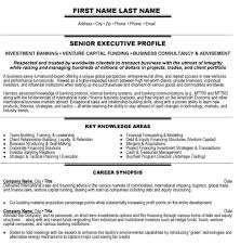 Senior Management Resume Templates Download Banking Executive Sample Resume Haadyaooverbayresort Com