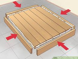 how to make a coffee table out of pallets how to make a coffee table 15 steps with pictures wikihow