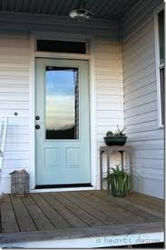 benjamin moore stratton blue front door beautiful screen door too