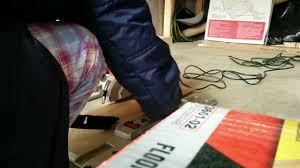 Ryobi Portable Flooring Saw by Skilsaw Skil 3600 02 Laminate Flooring Saw Youtube