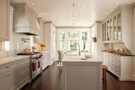 home decor trends of 2014 black cabinetry with white island also granite countertop also