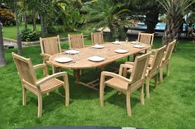 Garden Patio Table Teak Wood Patio Furniture New Home Design Ideas