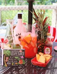 summer cocktail recipe tropical rum punch lily u0026 val living