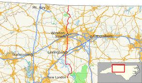 Rowan Map North Carolina Highway 8 Wikipedia