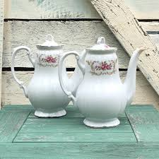 style house china baroque extremely baroque china coffee pot and lid set by