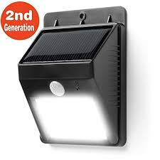 Motion Activated Cordless Light Outdoor Foryee Tm 8 Bright Led Wireless Waterproof Solar Powered Motion