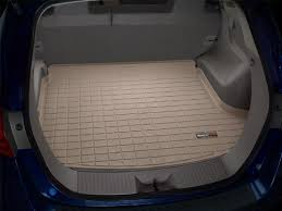 toyota sequoia cargo liner weathertech custom fit cargo liners for toyota venza