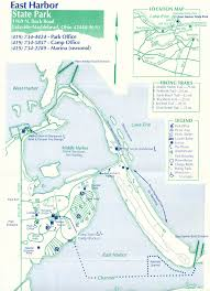 Map Of Sandusky Ohio by East Harbor State Park Map East Harbor State Park U2022 Mappery