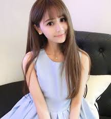 2016 korean long hairstyle korean haircut for round face straight