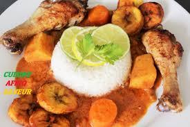 cuisine malienne mafé mafé poulet recette facile