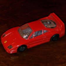 model f40 1 43 burago f40 diecast model road car