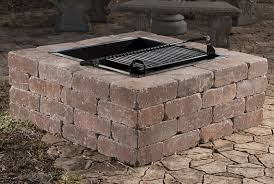 Stone Fire Pit Kit by O N E Fire Pits