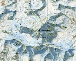 Mt Everest Map Online Maps Mount Everest Maps