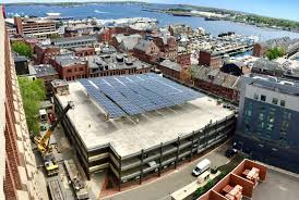 Portland Maine Zip Code Map by Old Port Parking Garage Does Double Duty As Solar Farm Revision