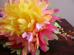 tissue paper flowers printable instructions mexican paper flowers
