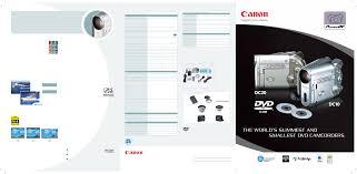 canon camcorder dc20 user guide manualsonline com