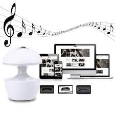night light sound mini mushroom shape usb charging led night light sound box