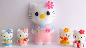 how to make hello kitty soft toy quick and easy tutorial youtube