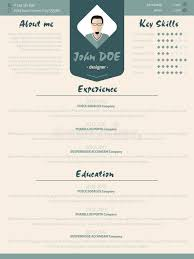 modern curriculum vitae template cool new modern resume curriculum vitae template with design ele