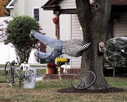 Easy Halloween Outdoor Decorations To Make by 22 Household Items That Do Double Duty Outdoor Halloween