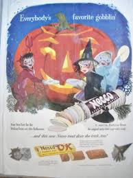 best place to buy candy for halloween halloween candy ads from the 1950s and 1960s