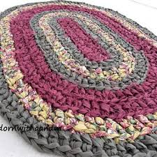 Pastel Rag Rug Best Crocheted Rag Rugs Products On Wanelo