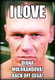 Back Off Meme - i love diana mulokandova back off gega john cena angry face