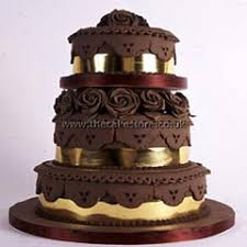 small brown wedding cakes the wedding specialiststhe wedding