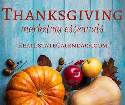 thanksgiving marketing essentials for realtors