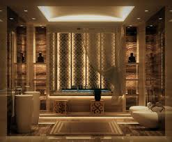 bathroom luxury stunning bathroom design with cream drop in
