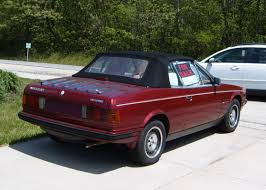 red maserati sedan curbside classic 1986 maserati biturbo spyder u2013 do you feel lucky