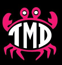 monogram decals preppy crab monogram decal
