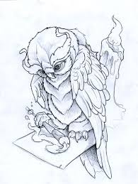 painting owl by joshdixart on deviantart commission art study