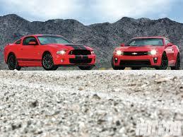 2012 mustang vs camaro camaro zl1 vs shelby gt500 war rod