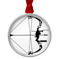 compound bow ornaments keepsake ornaments zazzle