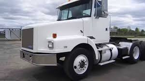 gmc semi truck 1994 white gmc tandem axle day cab 10067 for sale online